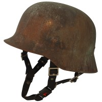 Galvania Chopper Helm Limes Kupfer rusted