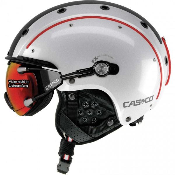 Casco Skihelm Sp-3 Competition weiß-rot-schwarz