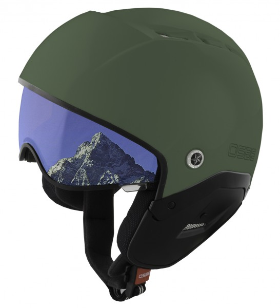 OSBE Ski-Helm Majic II military green photochrom
