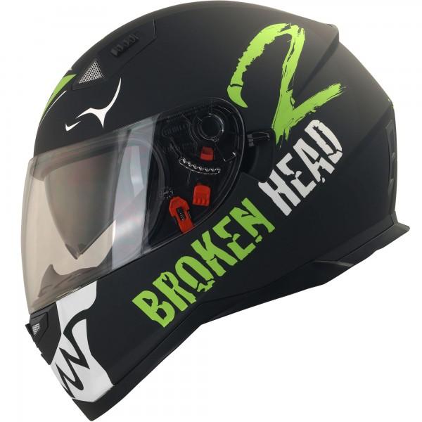 Broken Head Adrenalin Therapy VX2 schwarz-weiß (S)