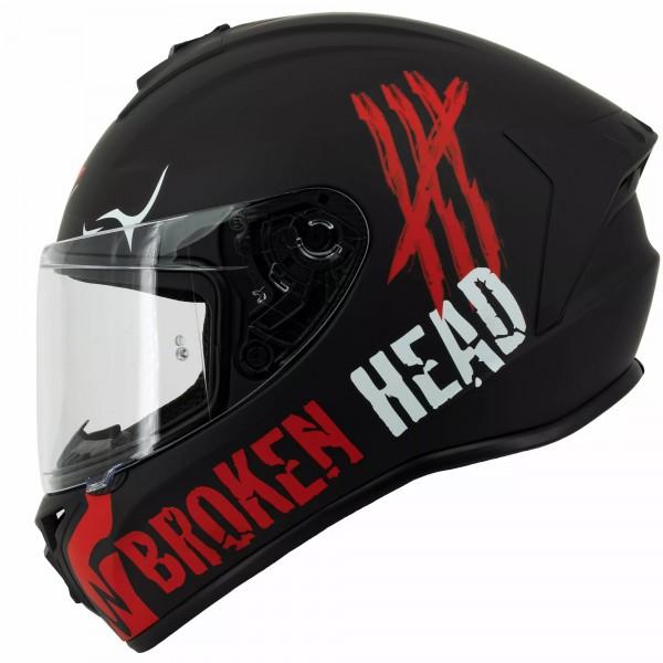 Broken Head Adrenalin Therapy 4X Black-Red Matt