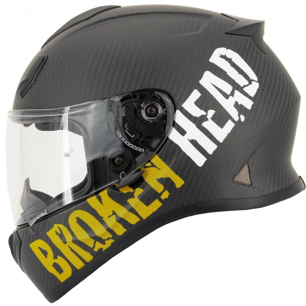 Broken Head BeProud Carbon Gelb Limited Edition