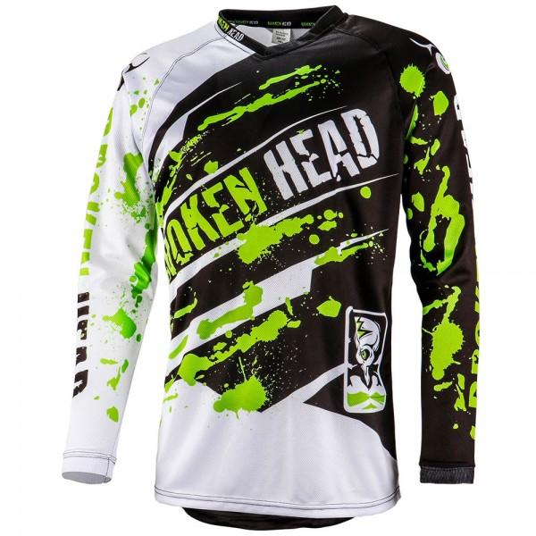 Broken Head MX Jersey Green Thunder