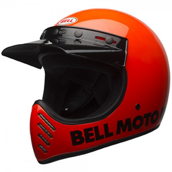 Bell Moto-3 Classic Flo Orange
