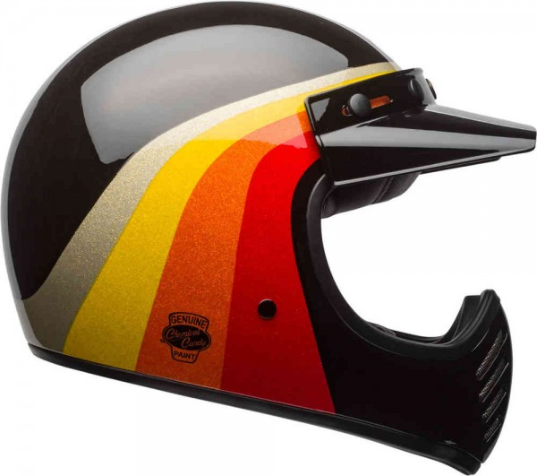 Bell Moto-3 Chemical Candy | Schwarz-Gold (L)