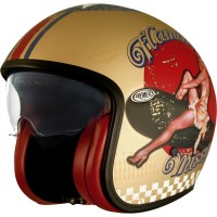 Premier Helme Premier Vintage Pin UP Gold BM