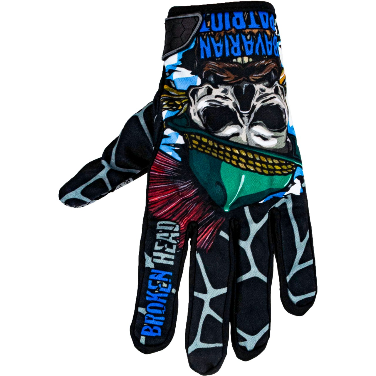 Bekleidung|Handschuhe Broken Head MX Handschuhe Bavarian Patriot Schwarz