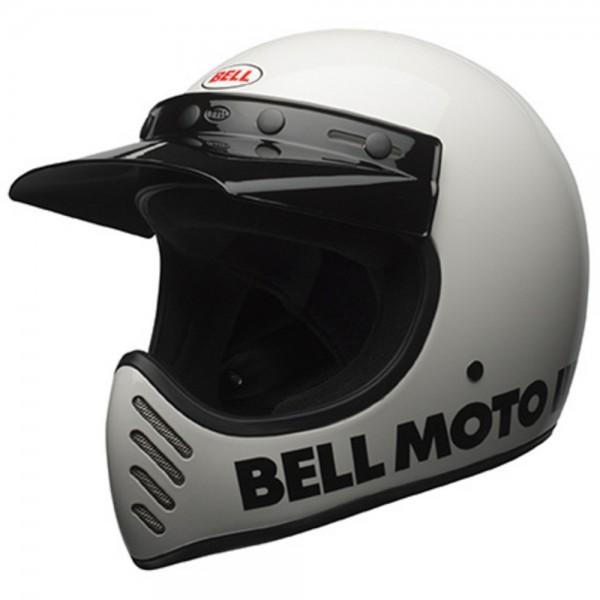 Bell Moto-3 Classic Weiß