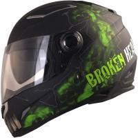 Broken Head Broken Skull Schwarz-Grün Matt