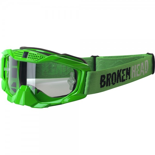 Broken Head MX-1 MX-Brille - Goggle grün-grün