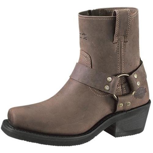 harley davidson stiefel damen boots el paso braun. Black Bedroom Furniture Sets. Home Design Ideas