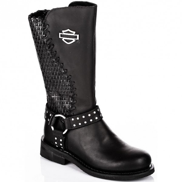 harley davidson stiefel damen boots aimee schwarz helme m dl. Black Bedroom Furniture Sets. Home Design Ideas