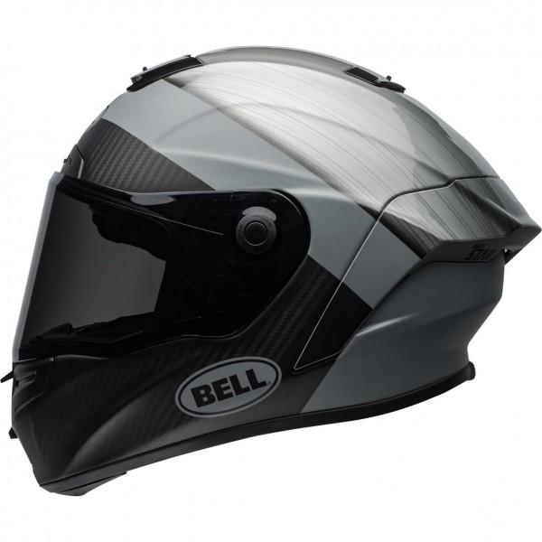 BELL Race Star Flex Helm Surge Metal/Grau (XL)
