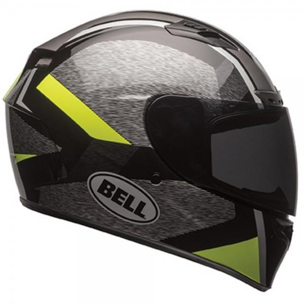 Bell Qualifie DLX Accelerator MIPS HI VIZ Schwarz Gelb