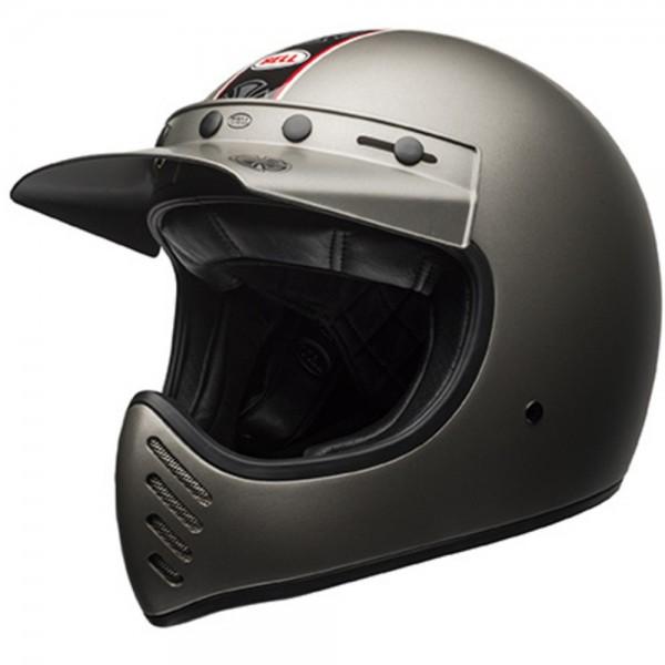 Bell Moto-3 Independent Matt Titanium