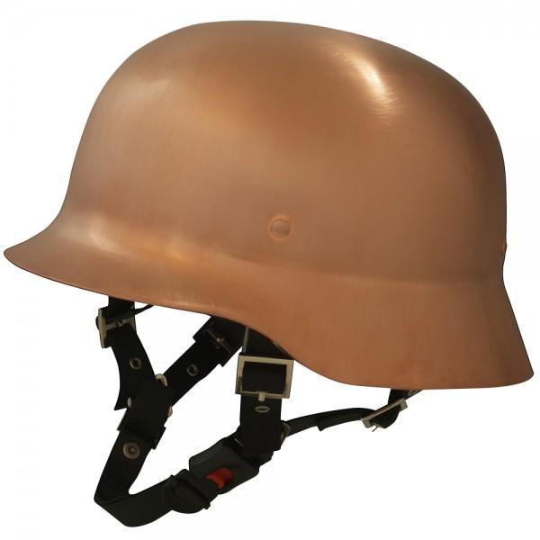 Galvania Chopper Helm Limes Kupfer gebürstet