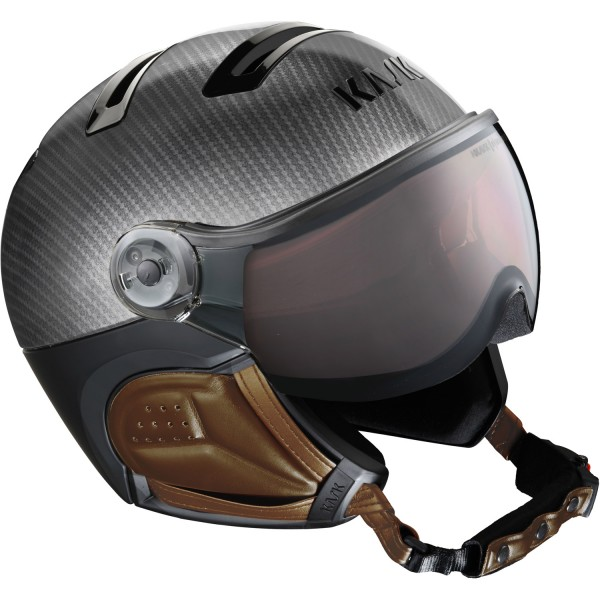 Kask Skihelm Elite Pro 20 Carbon Brown photochromatic