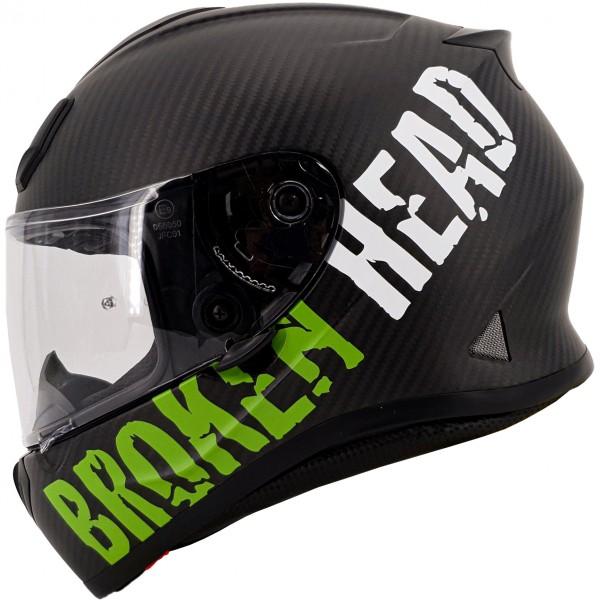 Broken Head BeProud Carbon Grün Limited Edition