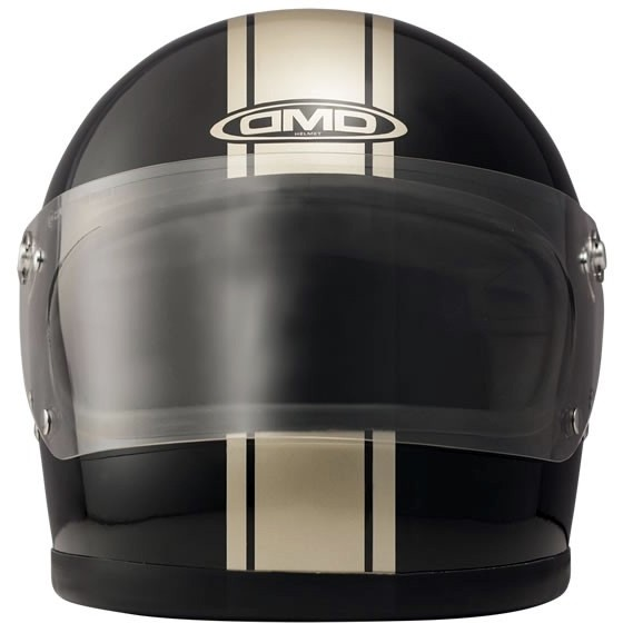 DMD Rocket Integralhelm Racing Black-Gold glanz