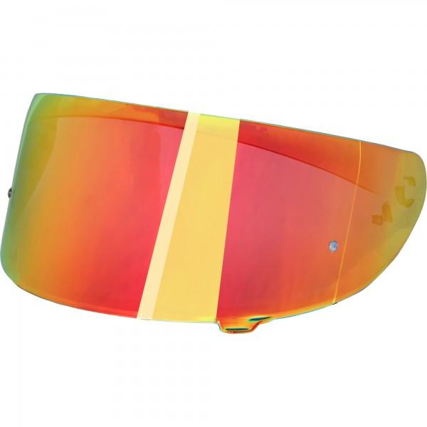 Broken Head Visier für Adrenalin Therapy 4X verspiegelt Rainbow-Red