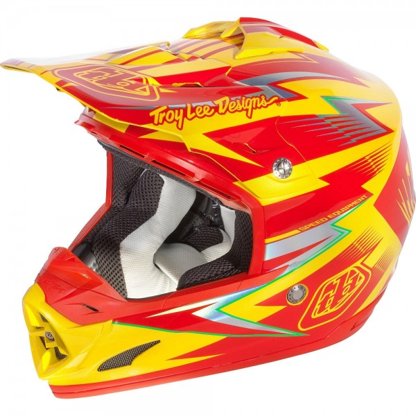 Troy Lee Designs SE3 Light  Cyclops red-yellow