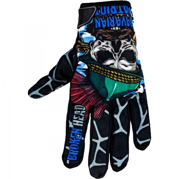 Broken Head MX Handschuhe Bavarian Patriot Schwarz