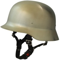 Galvania Chopper Helm Limes Nickel gebürstet