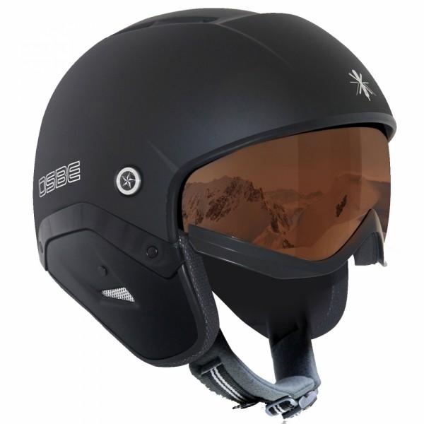 OSBE Ski-Helm Majic II mattschwarz photochrom